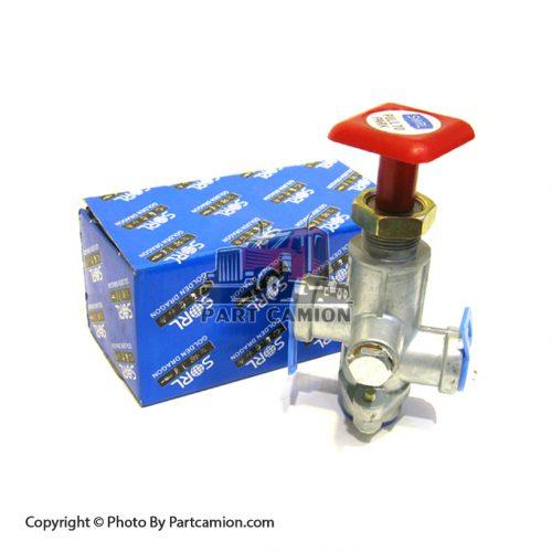 سوپاپ شیر قپونی تریلی سه محور | SORL