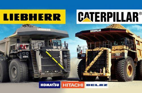 بررسی کامیون های معدن