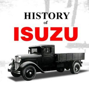 تاریخچه شرکت ایسوزو (ISUZU)